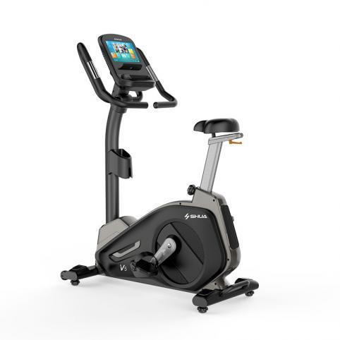 舒华商用触屏版立式健身车SH-B8901UT  SH-B8901UT