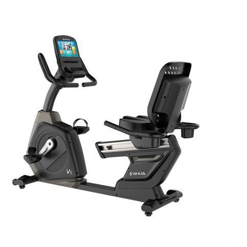 舒华高端商用触屏版卧式健身车SH-B8901RT  SH-B8901RT
