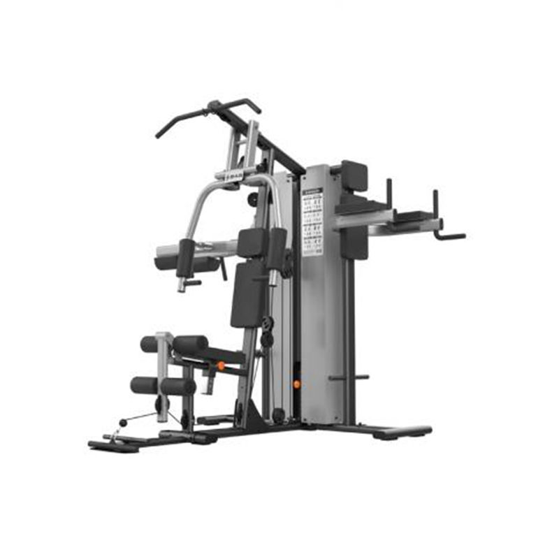 SHUA/舒华家用综合训练器三人站    SH-G5203                                  占地面积小,可满足三人同时使用,适用于私家健身房、企事业单位 、社区健身中